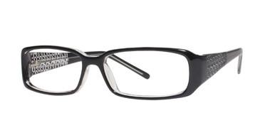 Black Affordable Designs Roe Eyeglasses.