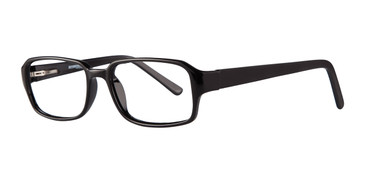 Black  Affordable Designs Ronald Eyeglasses.