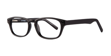 Black Affordable Designs Ted Eyeglasses.