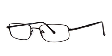 Matte Black Affordable Designs Tom Eyeglasses.