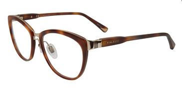 Dark Havana Nina Ricci VNR069 Eyeglasses