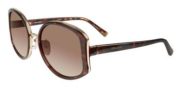 Shiny Dark Havana Nina Ricci SNR054 Sunglasses