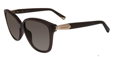 Clear Dark Grey Nina Ricci SNR067 Sunglasses