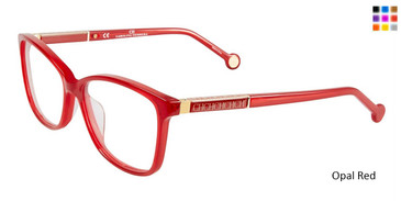 Opal Red Carolina Herrera VHE672K Eyeglasses.