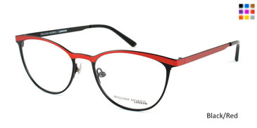 Black/Red William Morris London WM6998 Eyeglasses