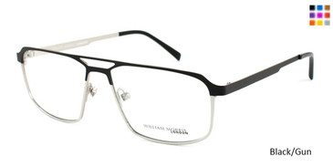 Black/Gun William Morris London WM6996 Eyeglasses