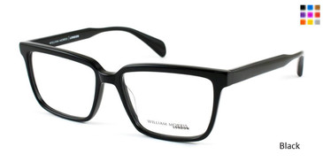 Black William Morris London WM6995 Eyeglasses