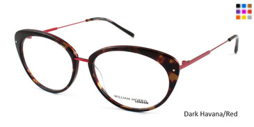 Dark Havana/Red William Morris London WM6991 Eyeglasses