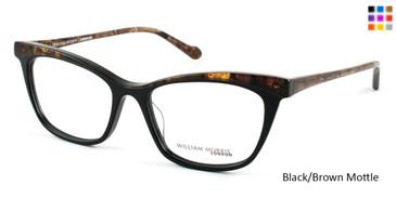 Black/Brown Mottle William Morris London WM6986 Eyeglasses