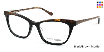 Black/Brown Mottle Top William Morris London WM6986 Eyeglasses