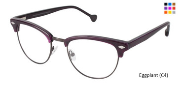 Eggplant (C4) Lisa Loeb Rock & Roll Eyeglasses
