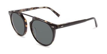 Black Tortoise John Varvatos V602 UF Polarized Sunglasses.