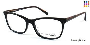 Brown/Black William Morris London WM50017 Eyeglasses