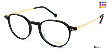 Black William Morris London WM50004 Eyeglasses