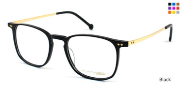 Black William Morris London WM50002 Eyeglasses