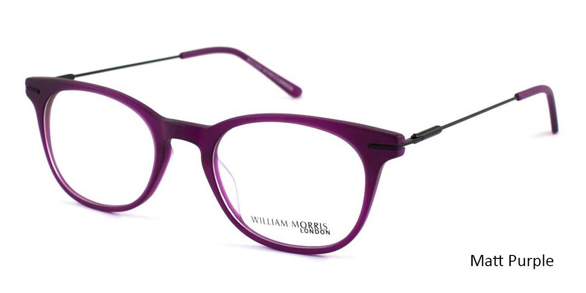 Matt Purple William Morris London WM50008 Eyeglasses - Teenager