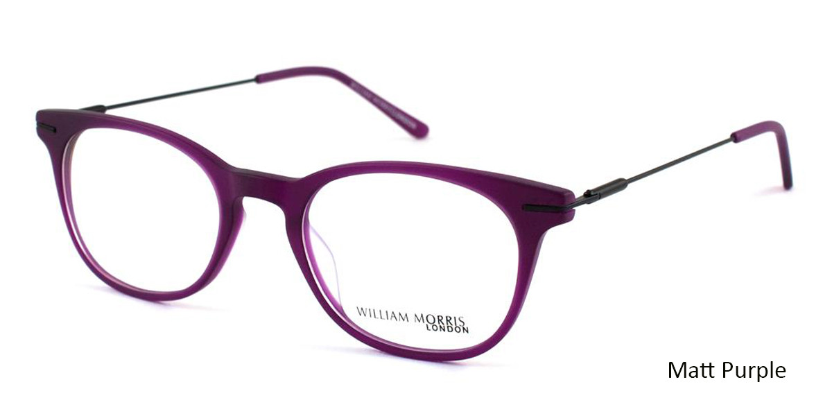 Matt Purple William Morris London WM50008 Eyeglasses - Teenager