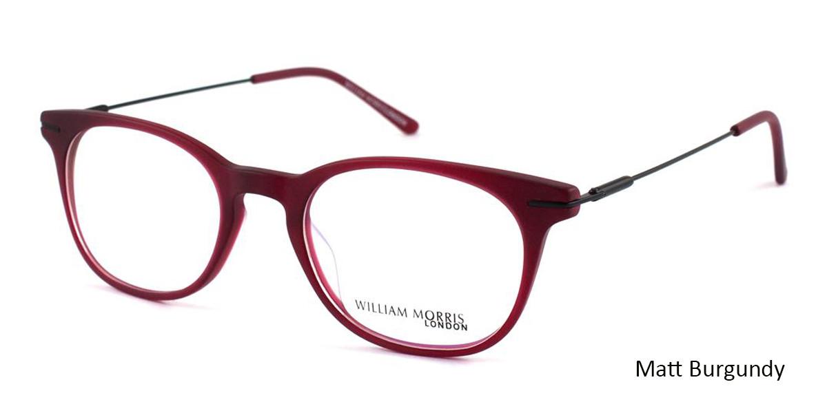 Matt Burgundy William Morris London WM50008 Eyeglasses - Teenager