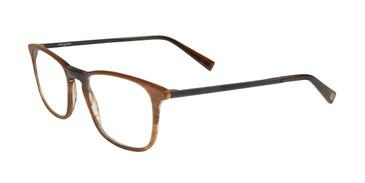 Brown John Varvatos V370 Eyeglasses.