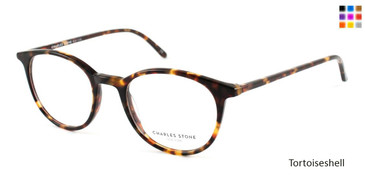 Tortoiseshell William Morris Charles Stone NY CSNY 30002 Eyeglasses - Teenager