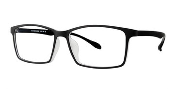 Black Matt Vivid Collection 256 Eyeglasses.