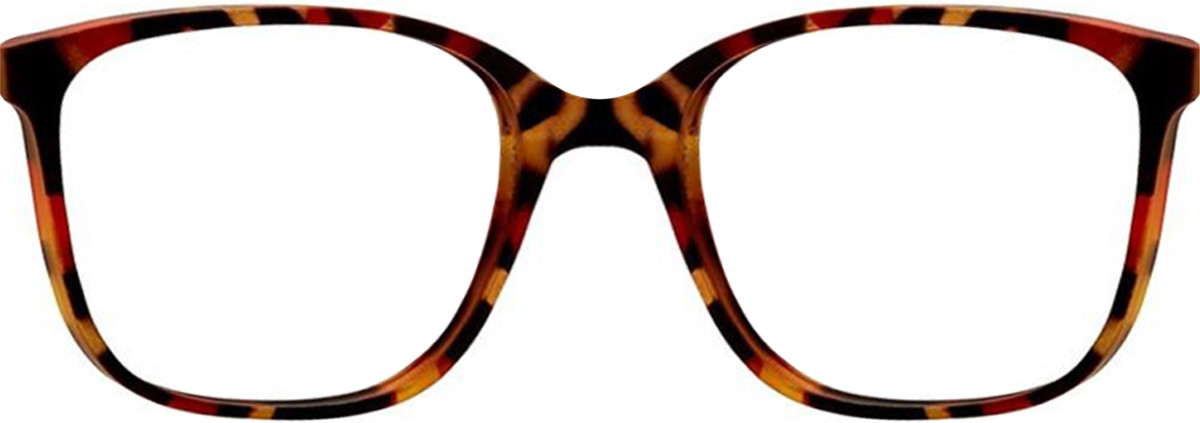 Camo Brown Vivid Soho 1033 Eyeglasses.