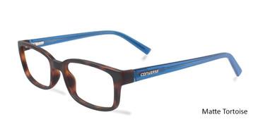 Matte Tortoise  Converse Q043 UF Eyeglasses.