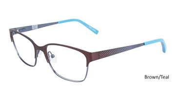 Brown /Teal Converse Q200 Eyeglasses