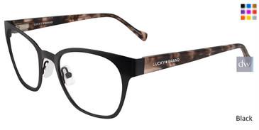 Black Lucky Brand D106 Eyeglasses