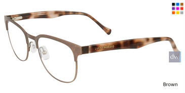 Brown Lucky Brand D107 Eyeglasses