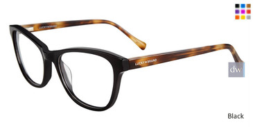Black Lucky Brand D207 Eyeglasses