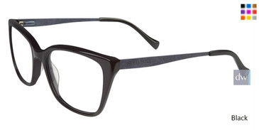 Black Lucky Brand D208 Eyeglasses