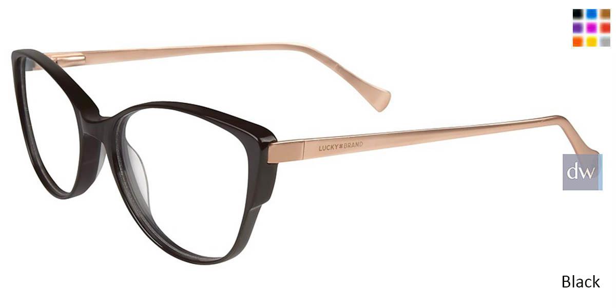 4f76a7ddeeb6 Lucky Brand D209 Women Prescription Eyeglasses