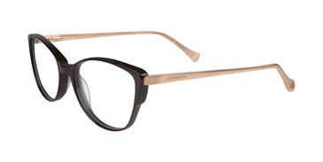 Black Lucky Brand D209 Eyeglasses.