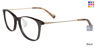 Black Lucky Brand D210 Eyeglasses