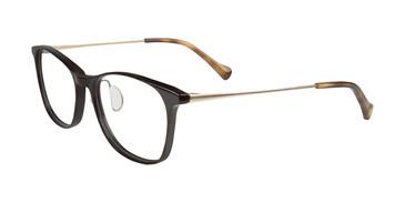 Black Lucky Brand D210 Eyeglasses.