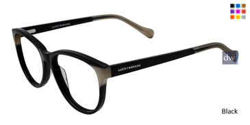 Black Lucky Brand D212 Eyeglasses