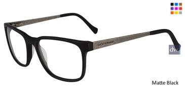 Matte Black Lucky Brand D404 Eyeglasses