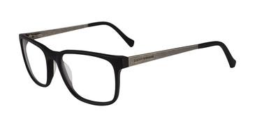 Matte Black Lucky Brand D404 Eyeglasses.