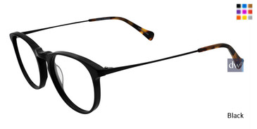 Black Lucky Brand D405 Eyeglasses