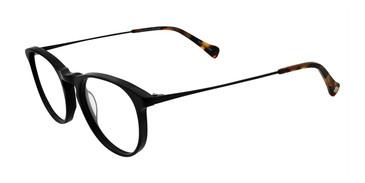 Black Lucky Brand D405 Eyeglasses.