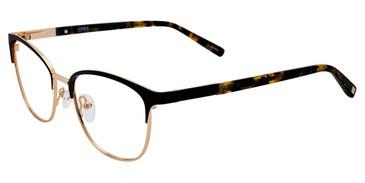 Black Jones New York J486 Eyeglasses.