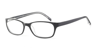 Black Crystal Jones New York J730 Eyeglasses.