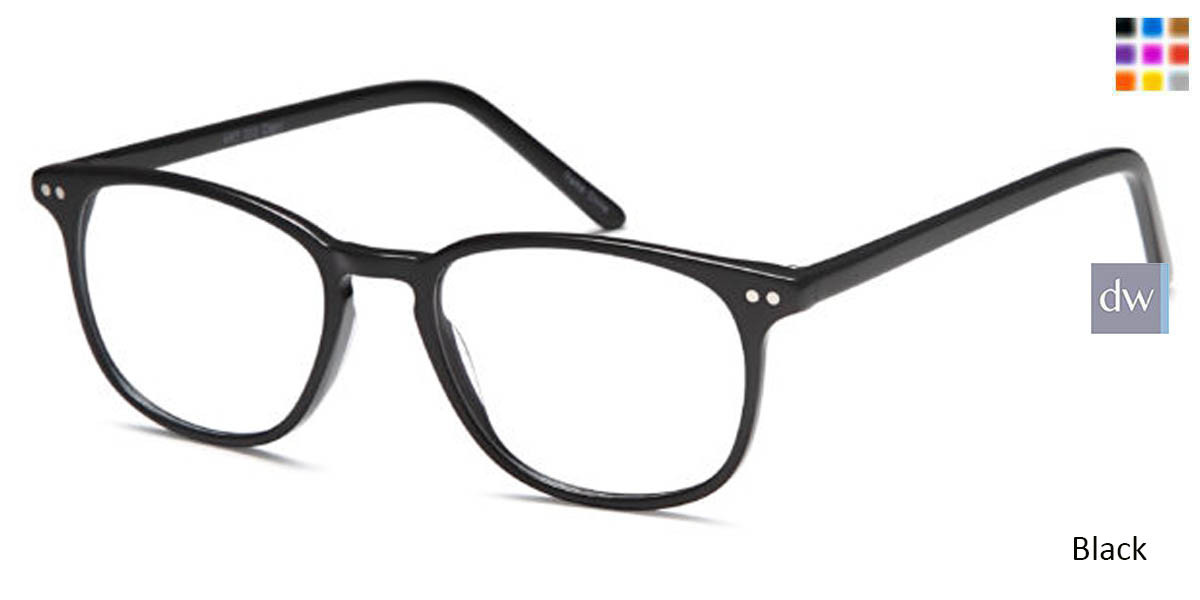 Black CAPRI ART 313 Eyeglasses - Teenager