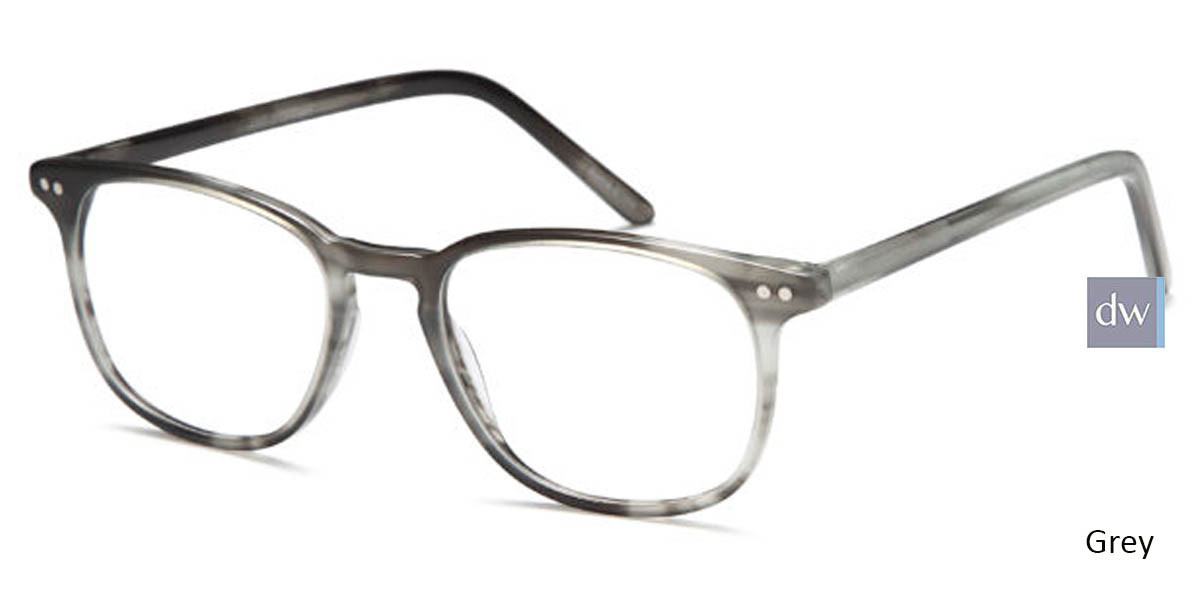 Grey Capri Artistik Eyewear ART 313 Eyeglasses - Teenager