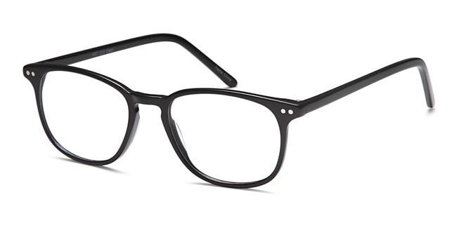 Black Capri Artistik Eyewear ART 313 Eyeglasses - Teenager