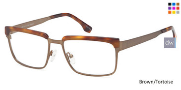 Brown/Tortoise  CAPRI ART 418 Eyeglasses