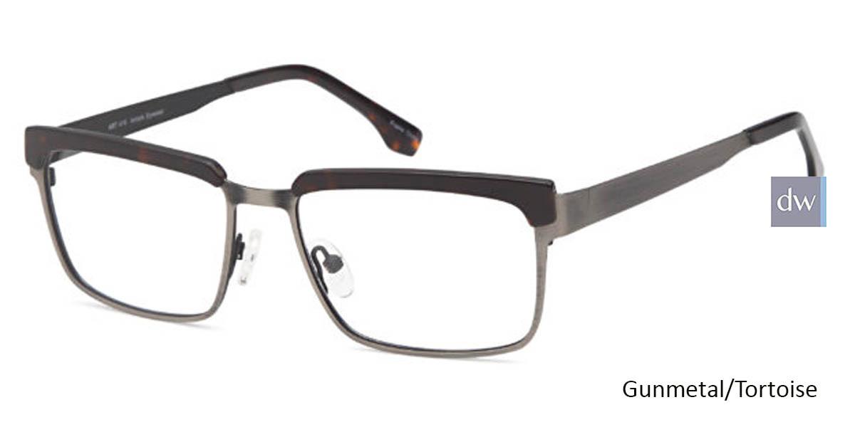 Gunmetal/Tortoise CAPRI ART 418 Eyeglasses