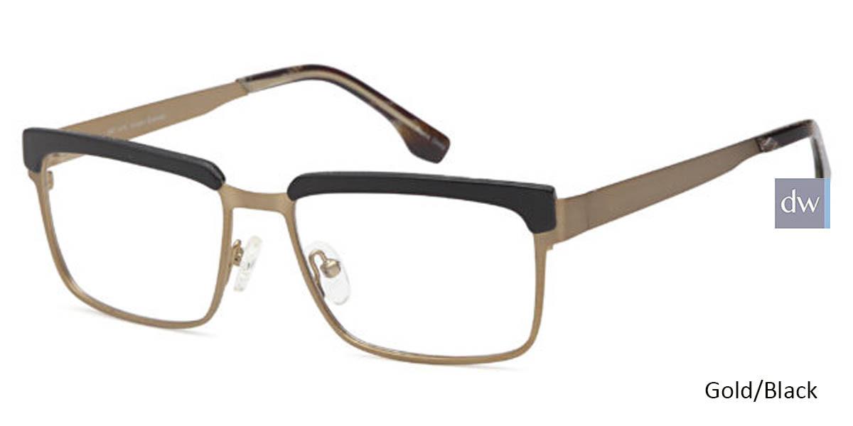 Gold/Black CAPRI ART 418 Eyeglasses