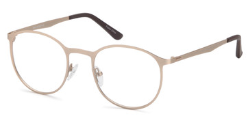 Gold Capri Dicaprio DC153 Eyeglasses - Teenager